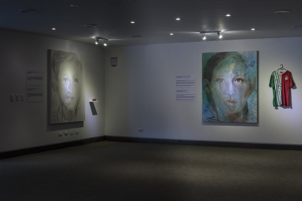 """La Ausencia en la Presencia"", exhibition for the International Committee of the Red Cross, Bogota, 2014, photo: Andrés Felipe Cortés Tique"